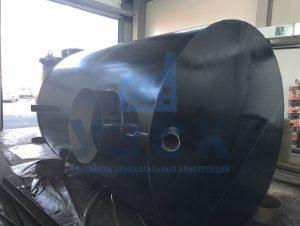 Резервуар горизонтальный стальной наземный в Молодечно