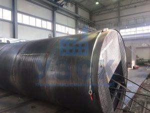 Резервуар РВС стальной вертикальный 400 кубов в Молодечно