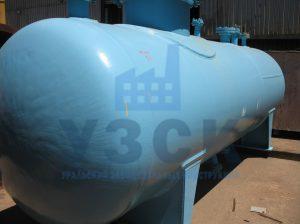 Резервуар РГС, емкость для газового конденсата с сферическими днищами в Молодечно