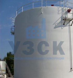 Резервуар вертикальный стальной 10000 кубов в Молодечно