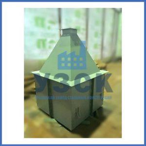 Купить бункер пирамидальный к циклонам ЦН в Молодечно